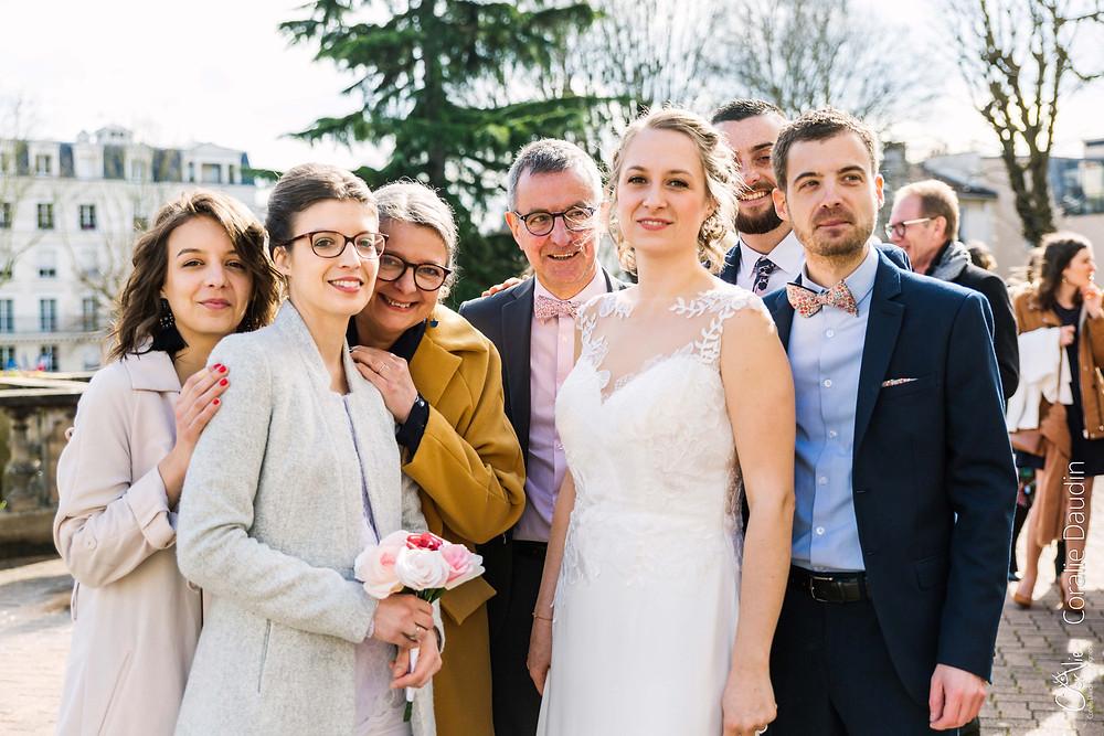 Photo de groupe mariage Chaville