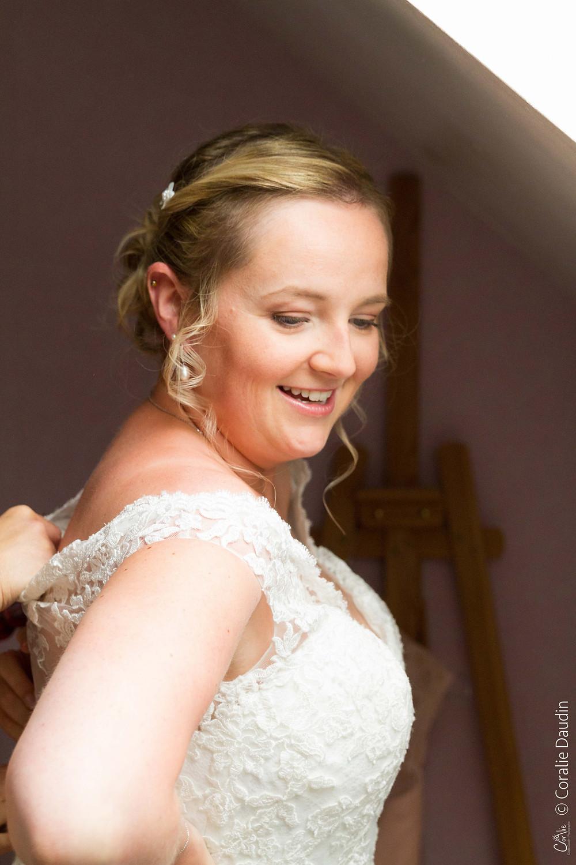 Photos préparatifs de la mariée Val d'Oise