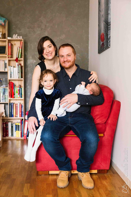 Séance photo famille à domicile à Bourg-la-Reine