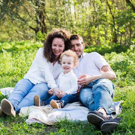 Séance photo famille au parc de Sceaux (92)