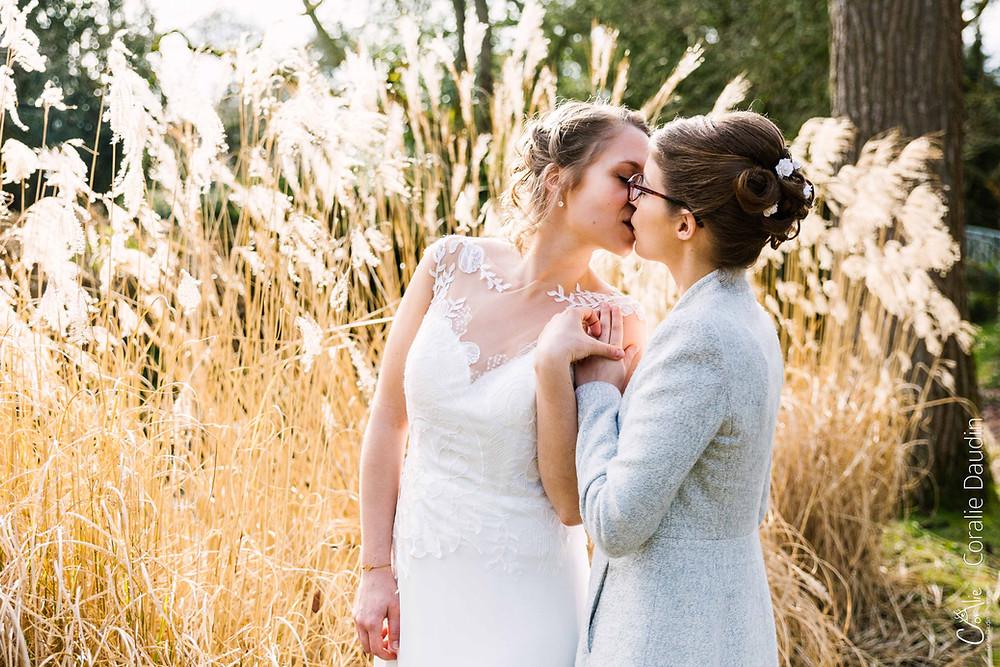 Photo de couple, mariage, Arboretum, parc de la vallée aux loups