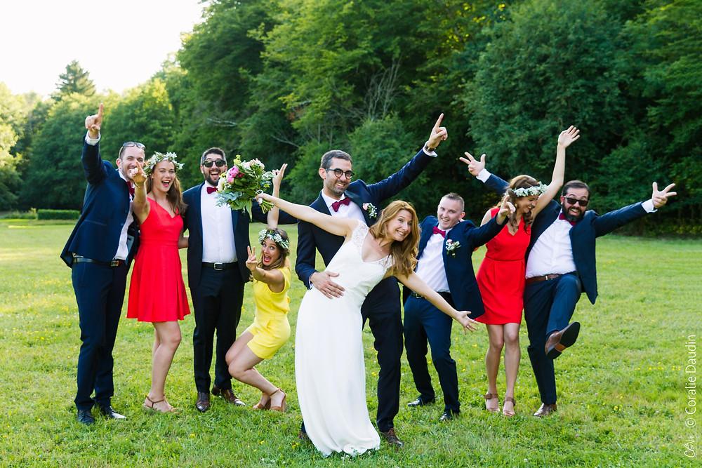 Photo témoins - photographe mariage Yonne