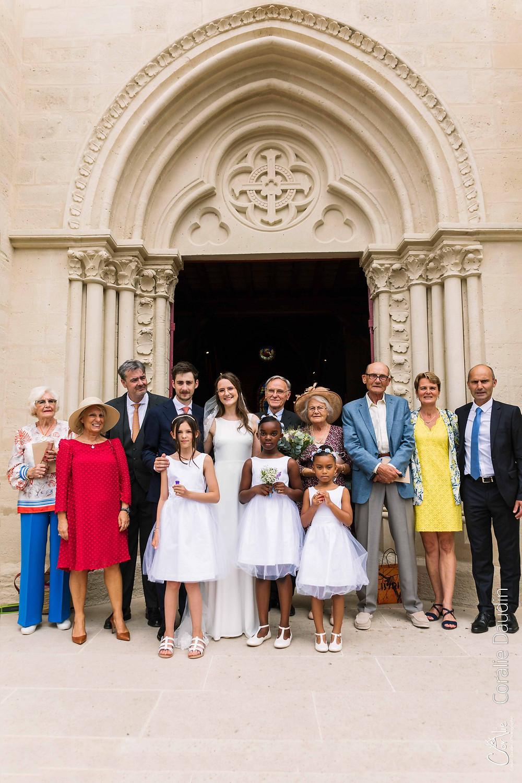 photo de famille église Verrières-le-Buisson, Hauts-de-Seine