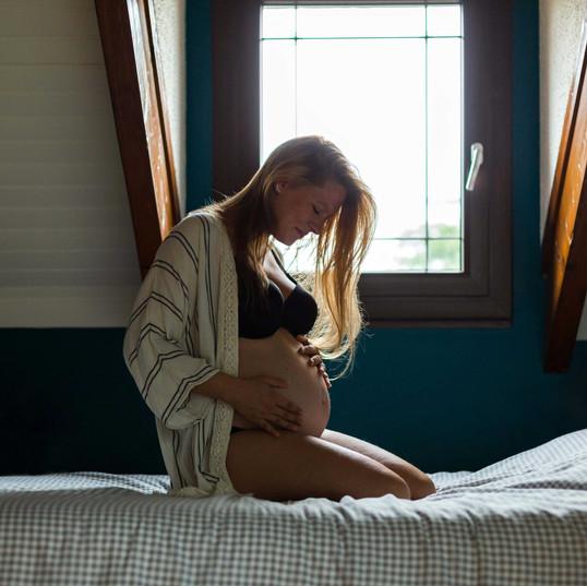 Séance grossesse à domicile - Yvelines (78)