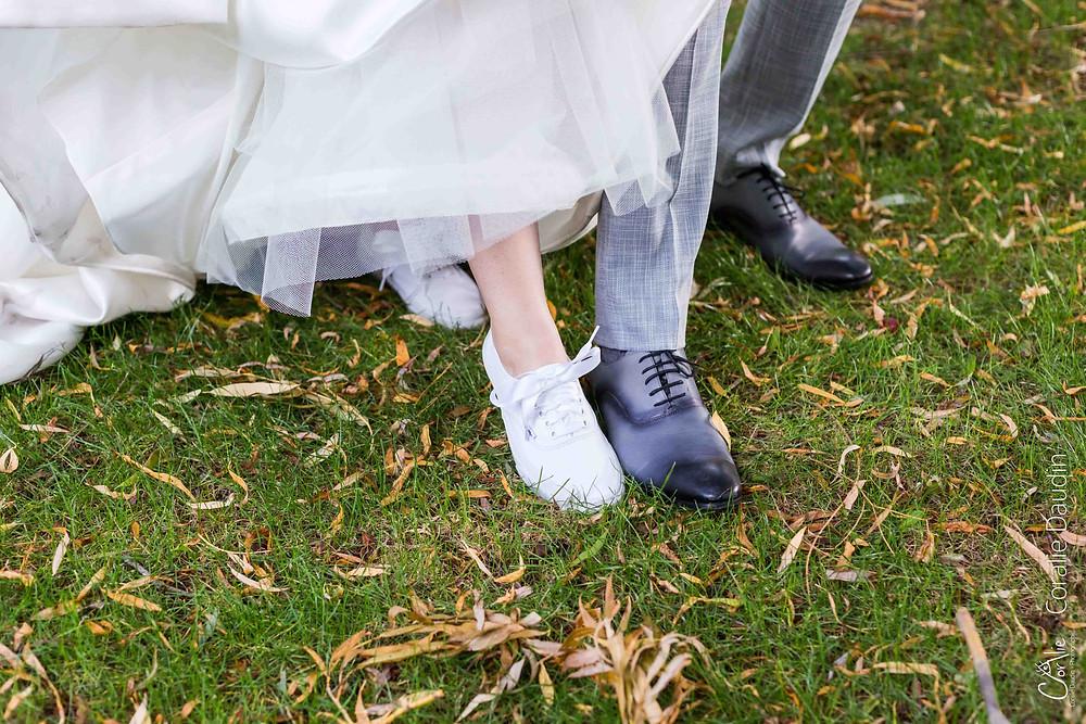 chaussures des mariés Vans
