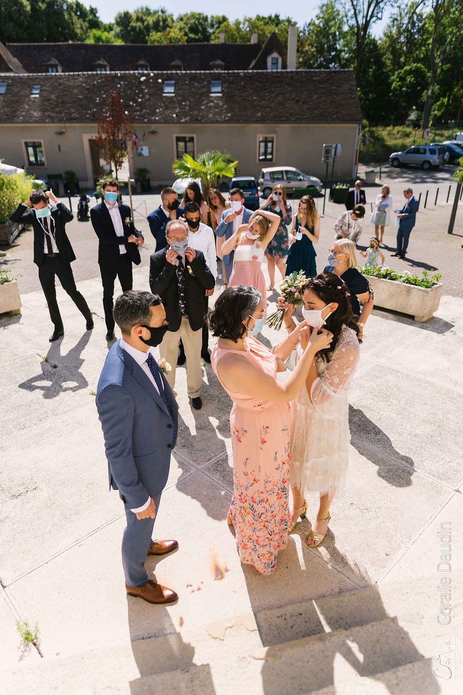 photographie de mariage Essonne été 2020