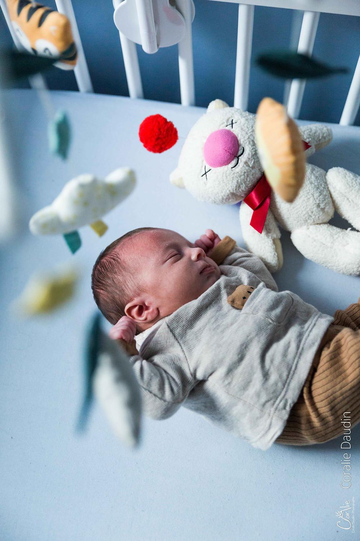 Shooting photo bébé à domicile