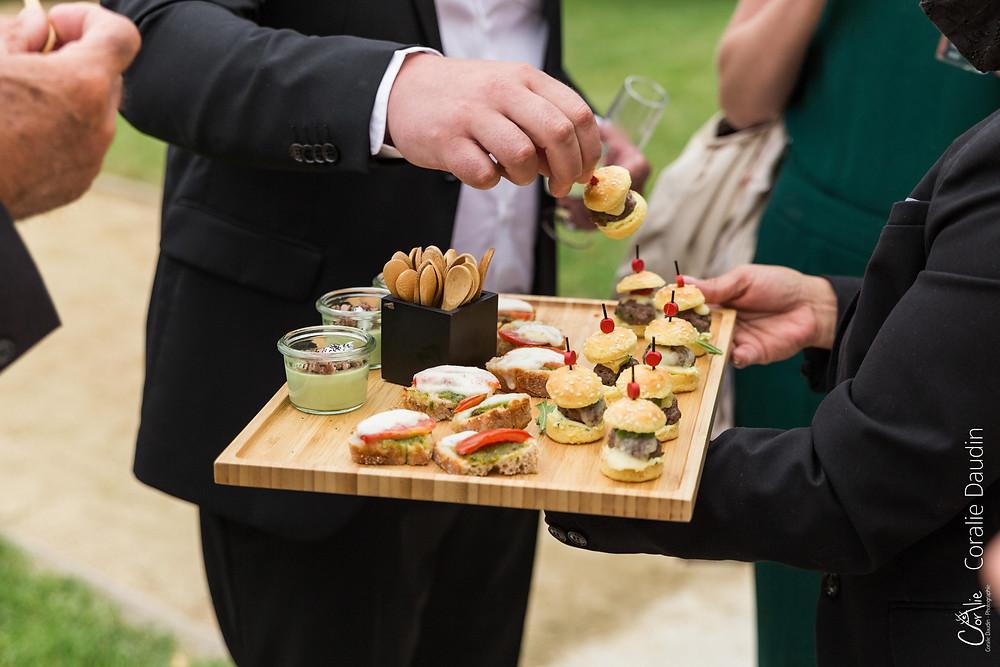 détail cocktail mariage