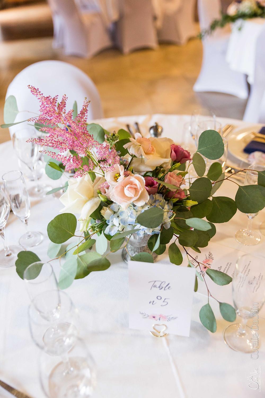 photo décoration florale mariage Atelier Mimoza