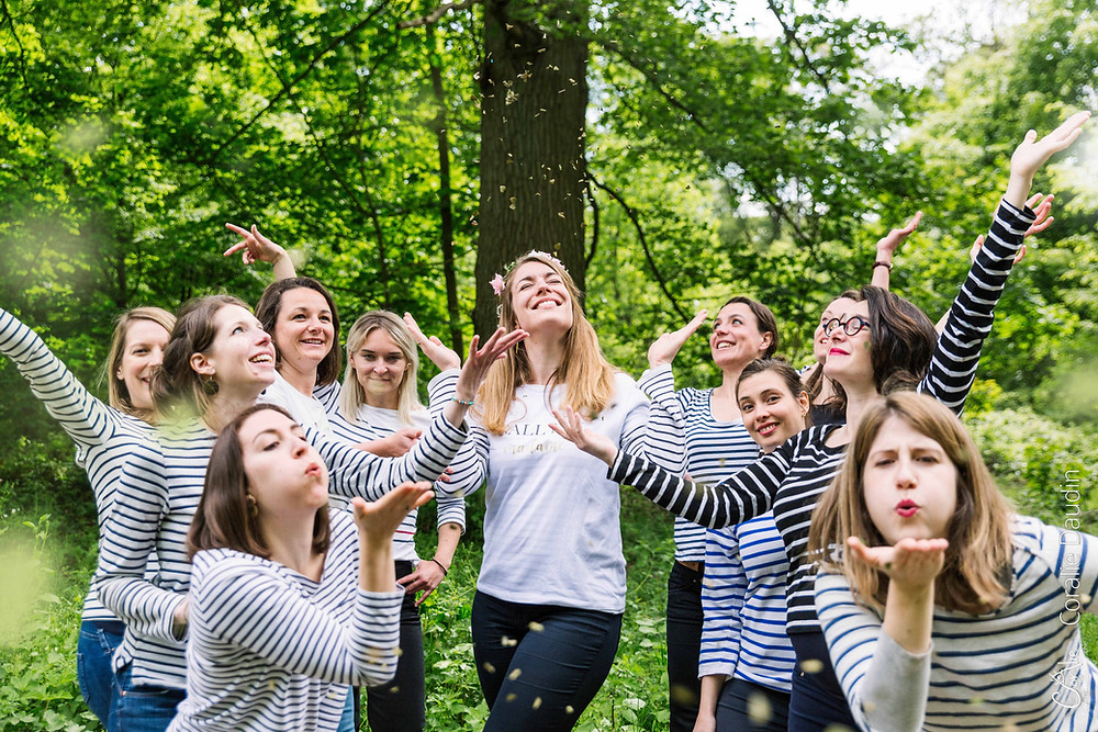 shooting photo idée activité pour un EVJF en Ile de France