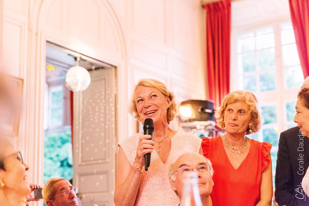 discours mariage Château du Breuil