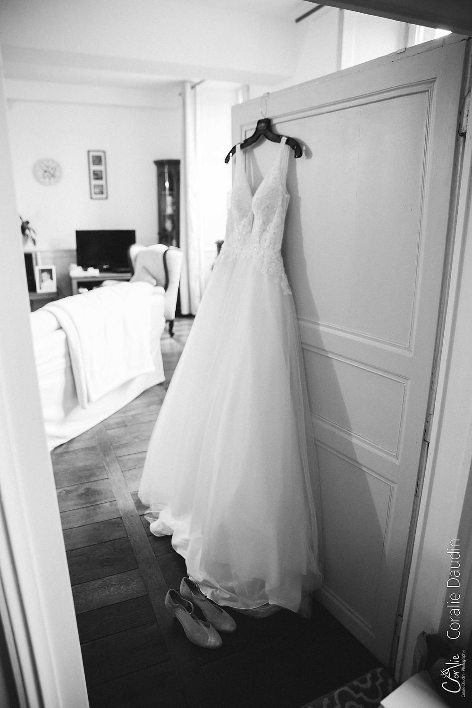 photo préparatifs mariée
