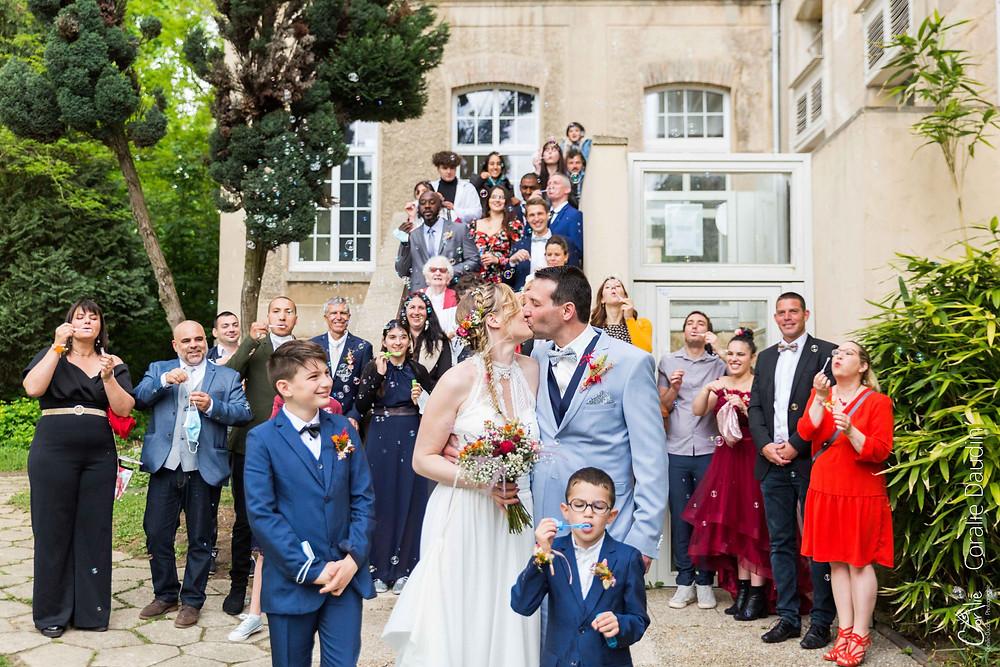 photos de groupe mariage Ballainvilliers (91)