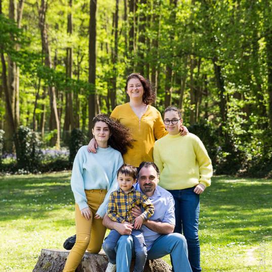 Séance photo famille en extérieur - Étrechy (91)