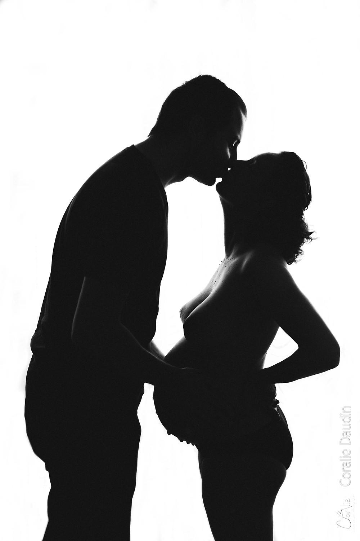 séance photo grossesse en couple