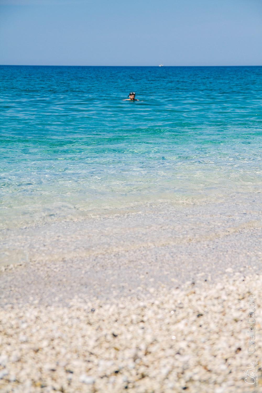 plage proche de Borsh