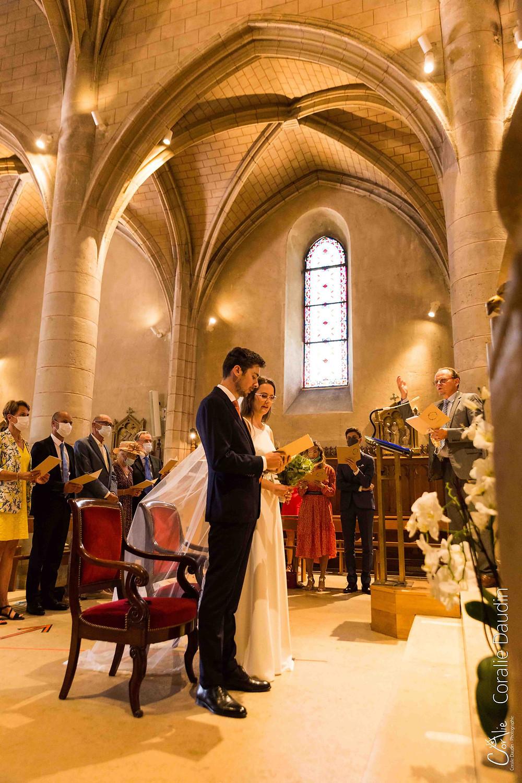 photographe cérémonie religieuse mariage à Verrières-le-Buisson