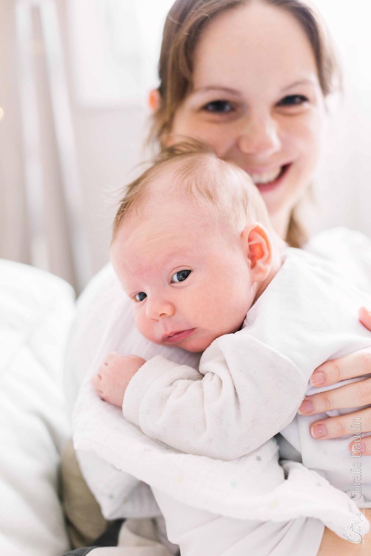 Portrait photo mère et enfant