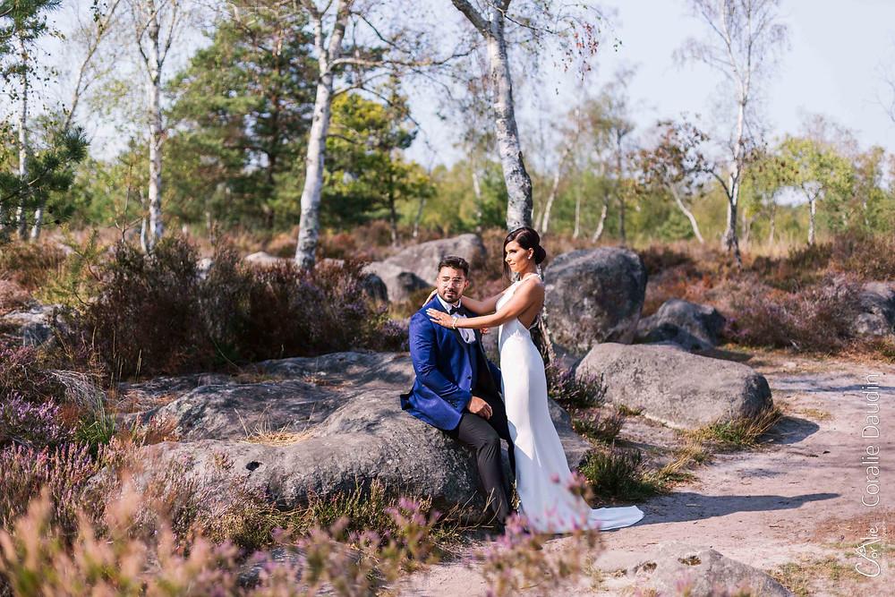 reportage photo mariage à Fontainebleau