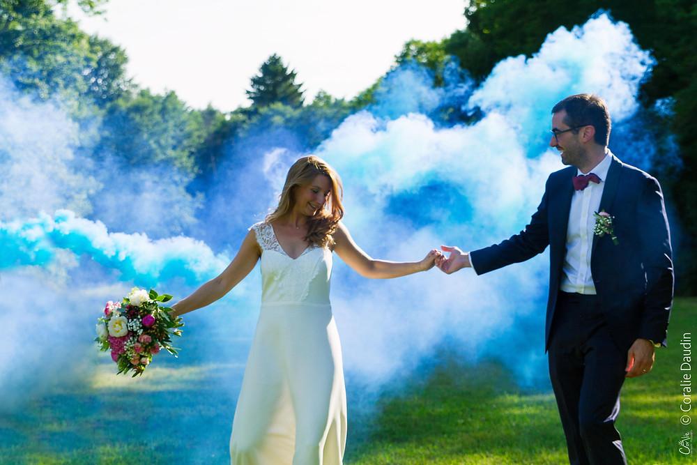 Photographe couple mariés