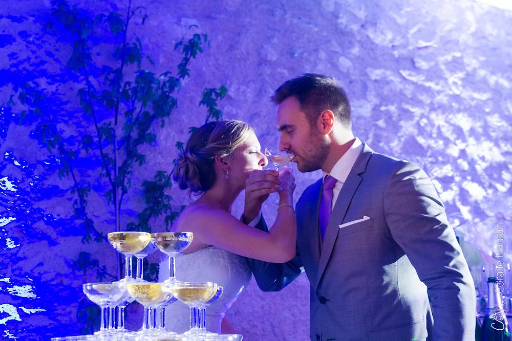 Champagne des mariés