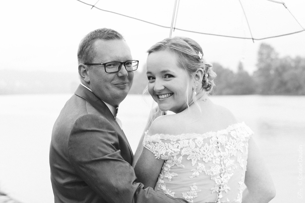Couple de mariés La Roche-Guyon