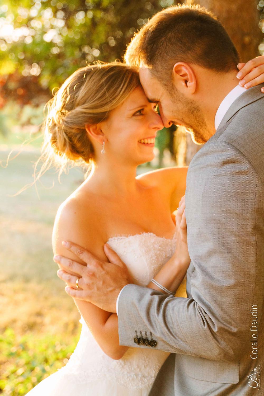 Photographe mariés au coucher du soleil