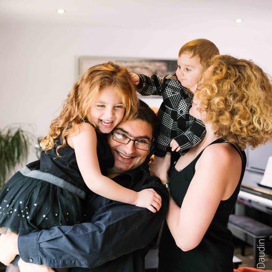 Séance photo famille à domicile - Argenteuil (95)