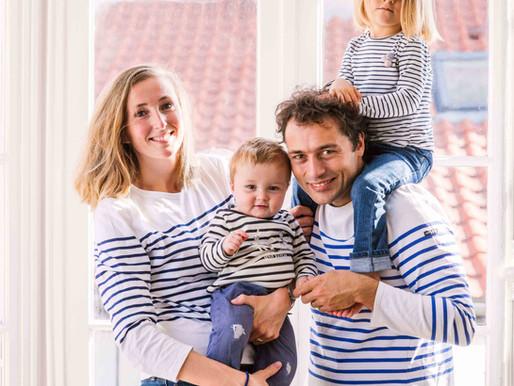 Séance photos famille à domicile - Paris