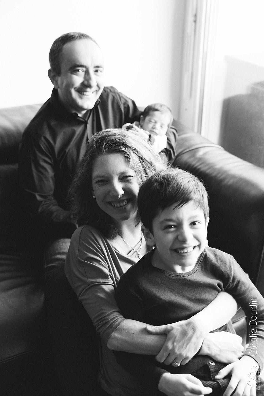 Séance photo famille à domicile, Maisons-Alfort