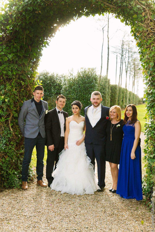 Photo de groupe - Coralie Daudin-Photographe mariage Essonne - reportage mariage