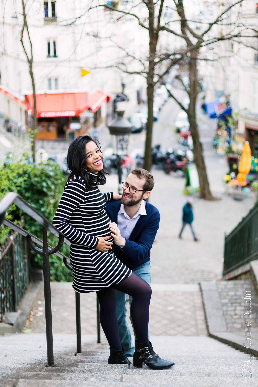 Séance photo grossesse à Paris