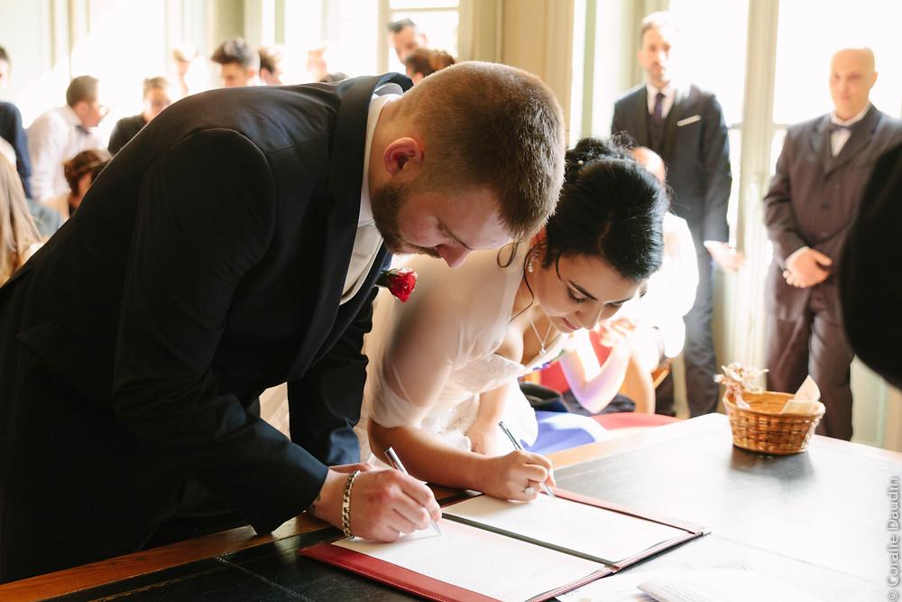 Photo mairie - Coralie Daudin-Photographe mariage Essonne- reportage mariage