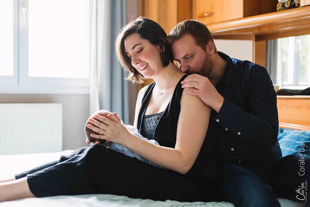 Photographe séance naissance Bourg-la-Reine