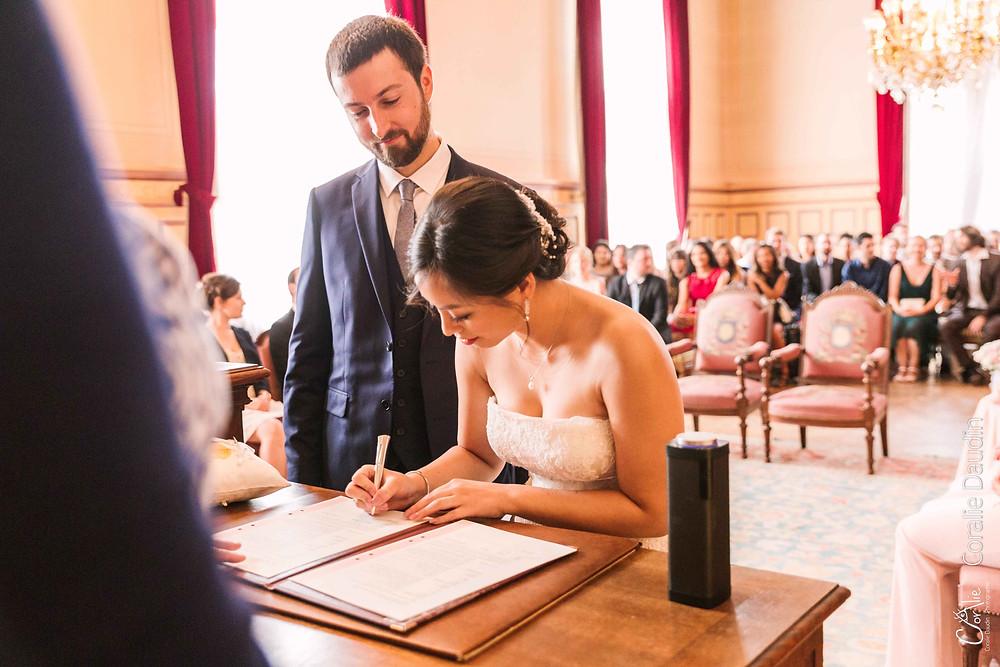 photo cérémonie mariage mairie Montrouge