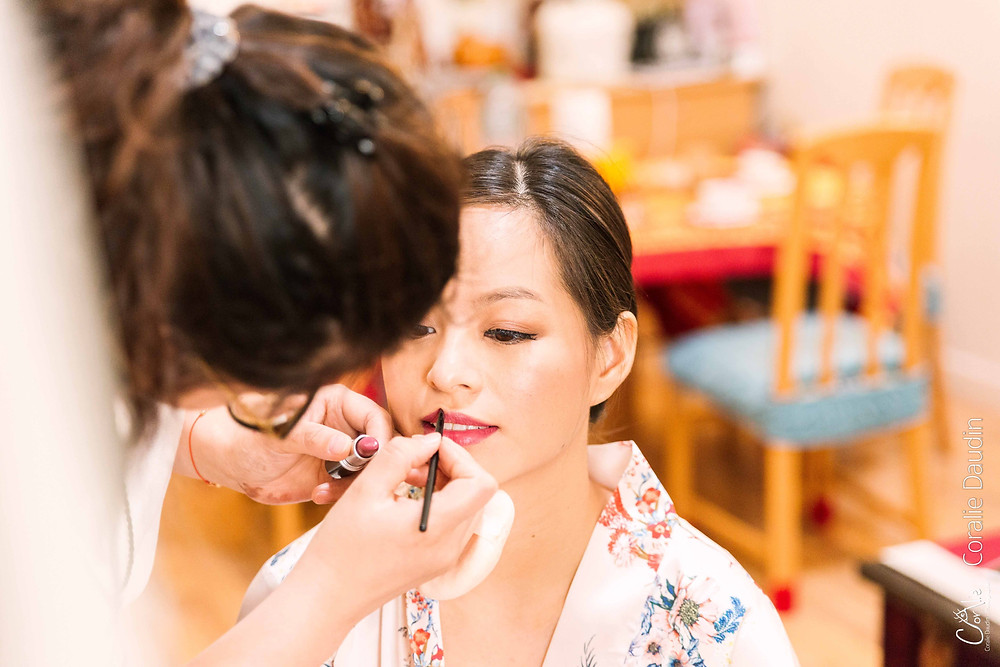 maquillage mariée Paris