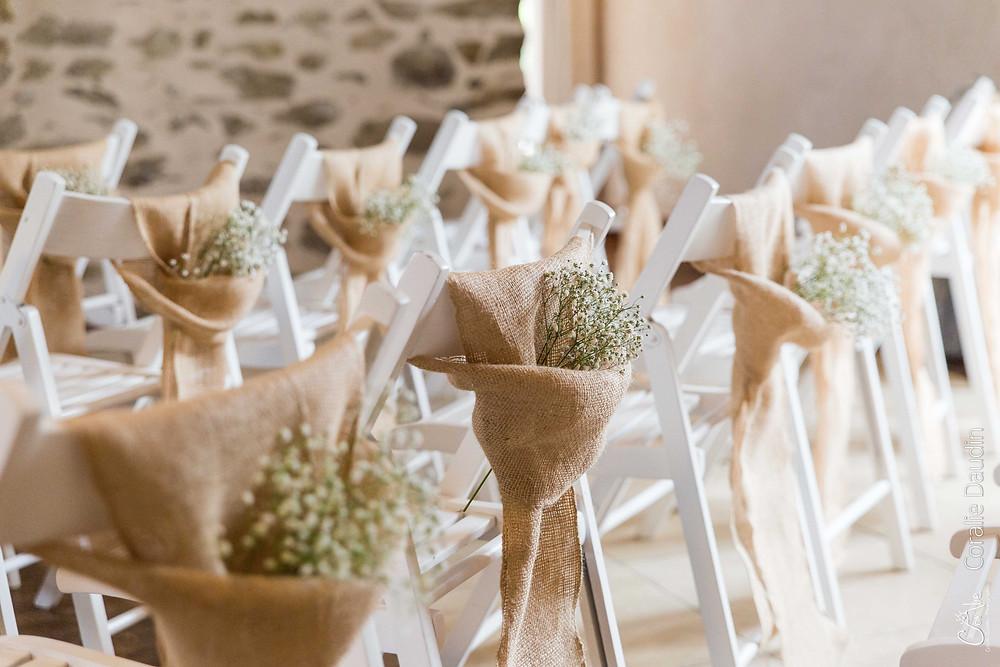 décoration florale salle cérémonie laïque