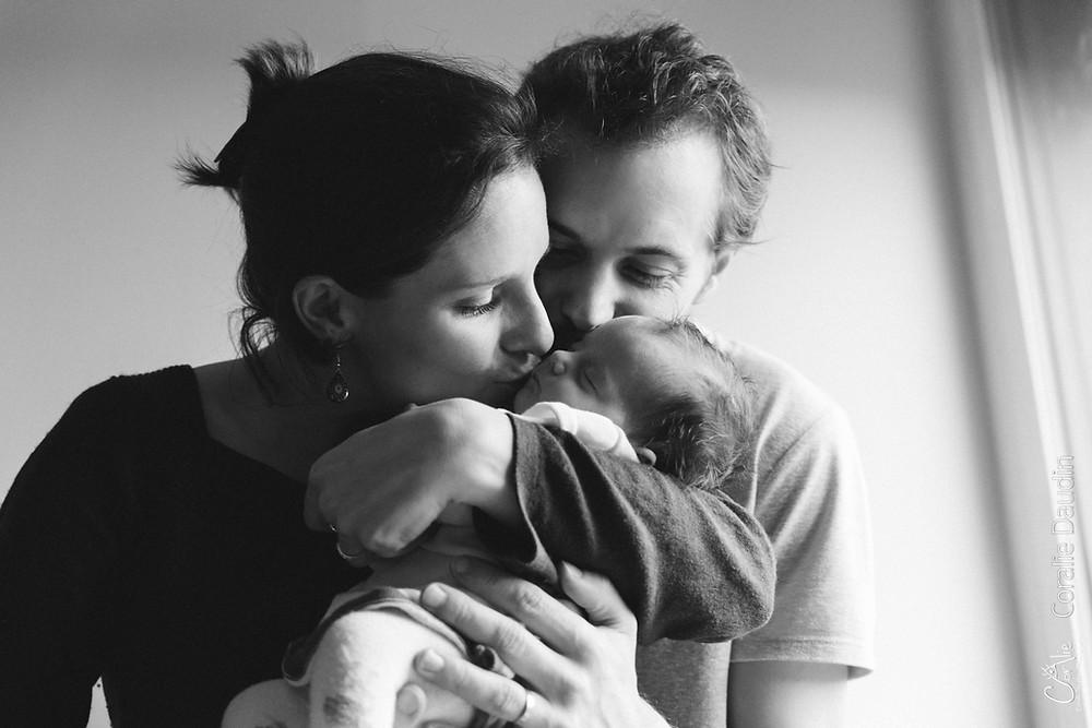 Photographe séance photo naissance à Massy