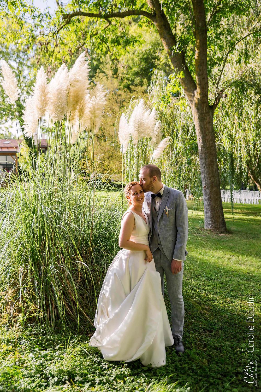 Photographie mariage domaine du marais à Maisse