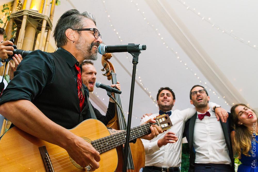 Musiciens soirée mariage