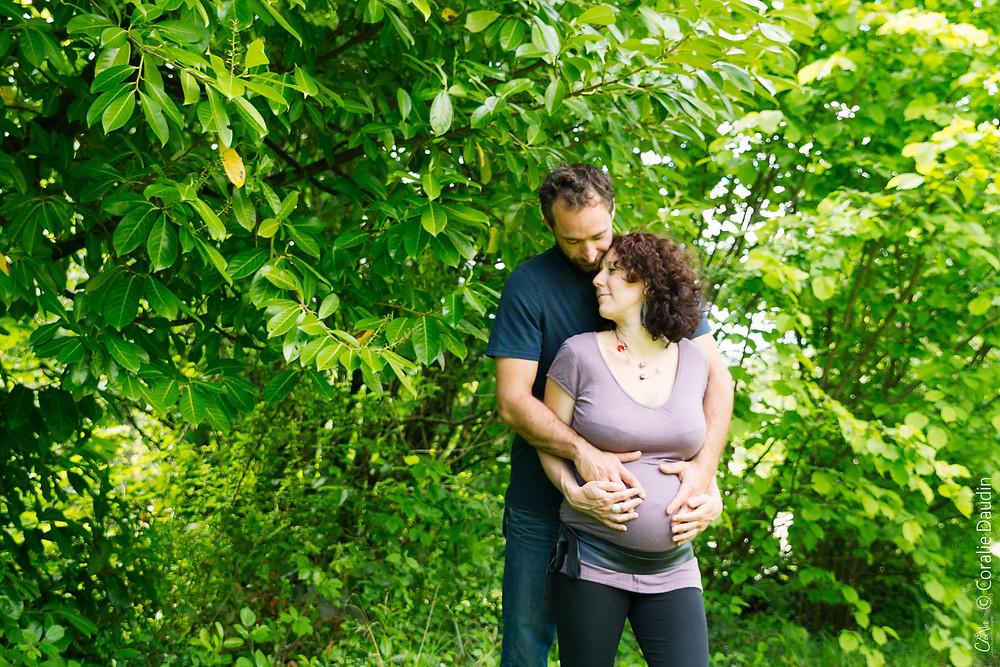 Séance grossesse lifestyle en couple