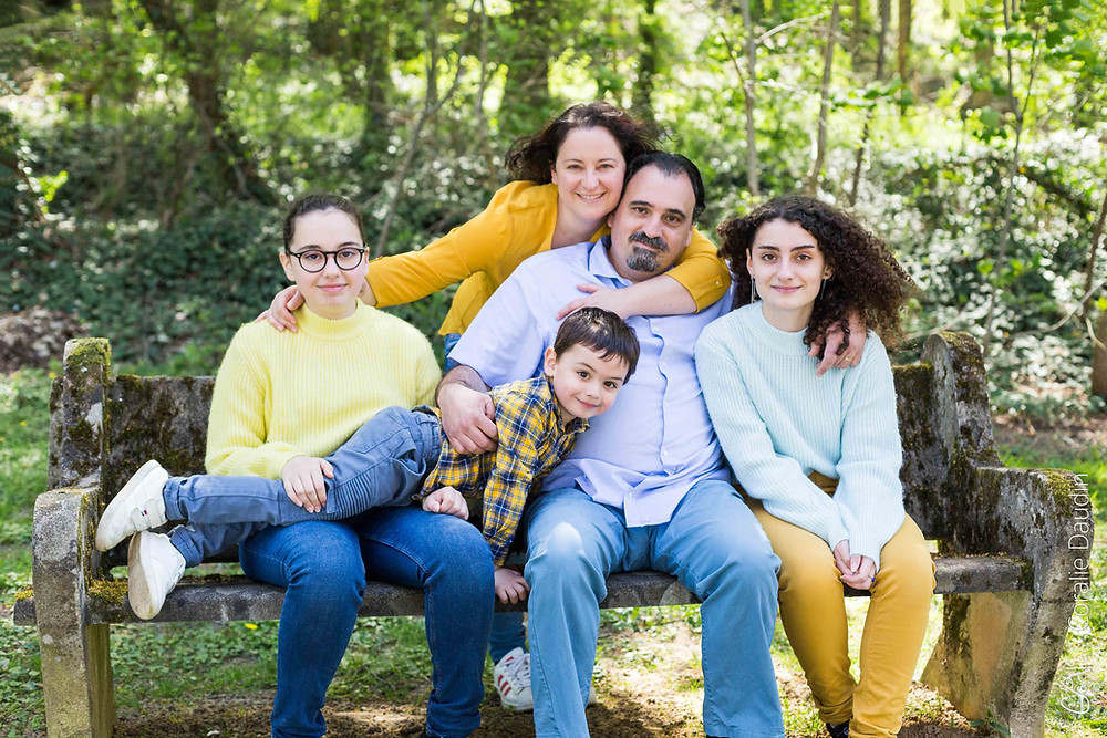 shooting photo famille en exterieur en Essonne