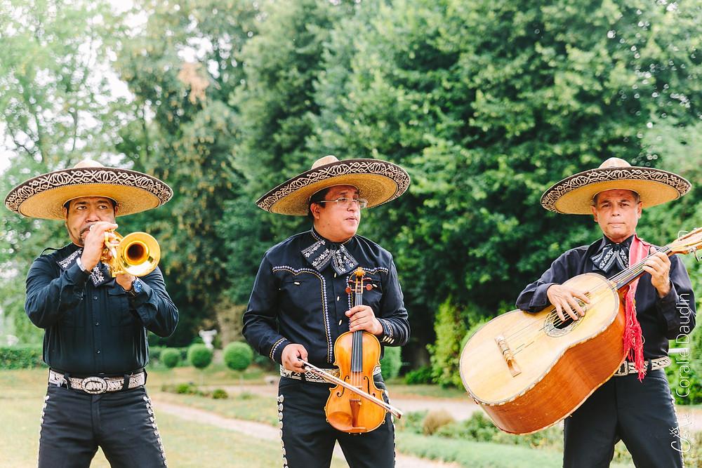 Mariachis mariage franco-mexicain