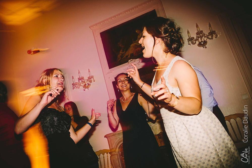 ouverture du bal mariage Fontainebleau