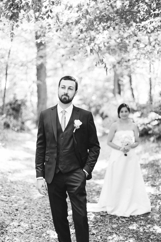 photo couple mariés Fontainebleau
