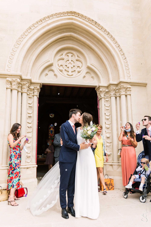 Sortie d'église mariage Verrières-le-Buissson (92)