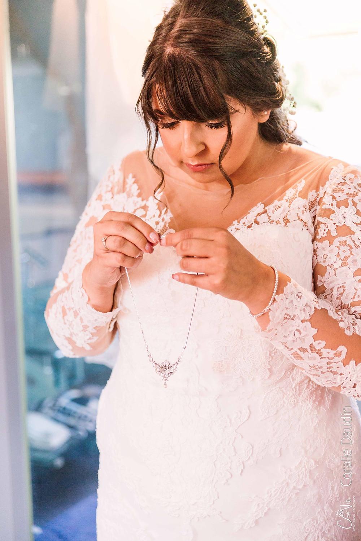 photographie préparation mariée