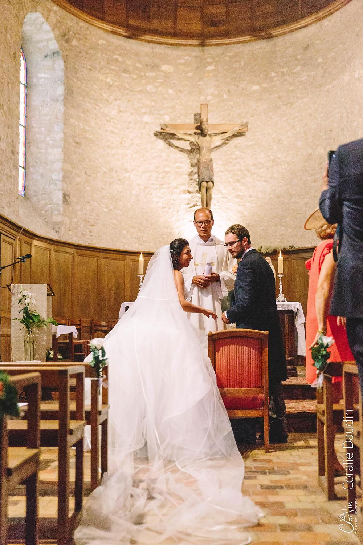 photographe cérémonie religieuse mariage Thoiry