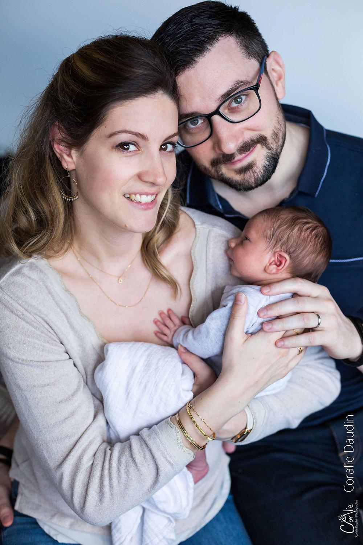 Séance photo naissance à Châtenay-Malabry dans les Hauts-de-Seine
