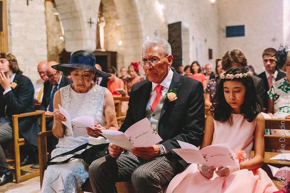 Reportage photo cérémonie mariage